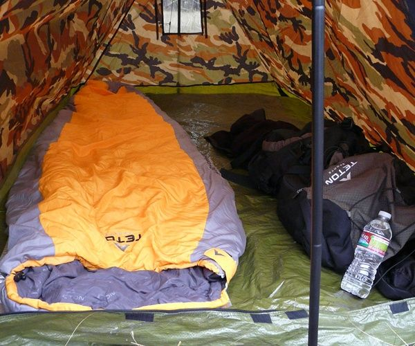 While a tarp can work for an emergency shelter a small tent can provide greater & While a tarp can work for an emergency shelter a small tent can ...