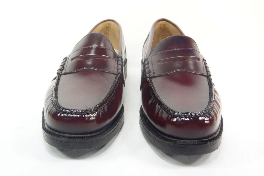 f2381cea5d1 Nunn Bush Mens Lincoln Penny Loafer Burgundy Size 10.5 85538-05  NunnBush   Elegant