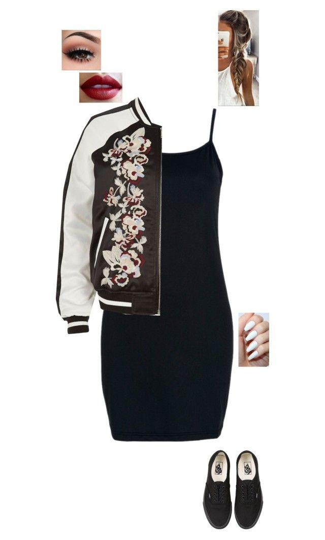 """""""2.10.16"""" by jesshorne2016 ❤ liked on Polyvore featuring River Island and Vans"""