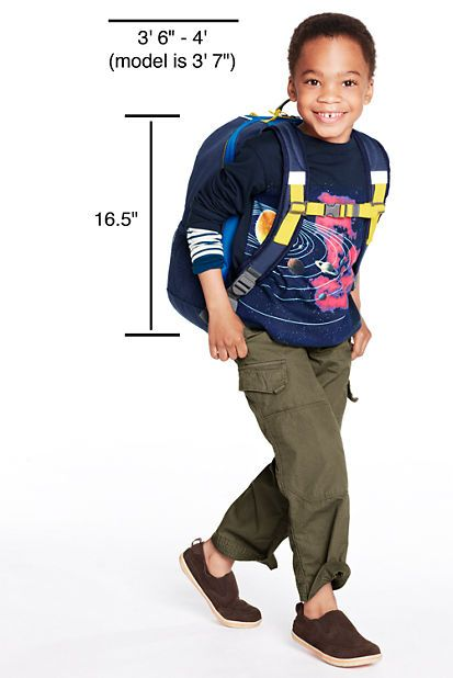 Solid ClassMate® Small Backpack from Lands' End