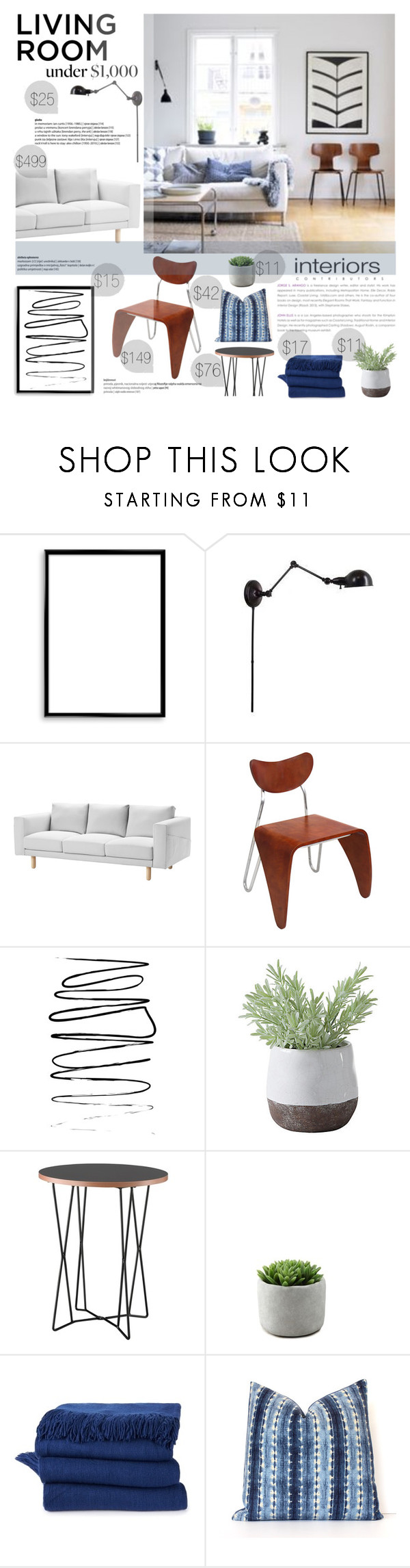 """Feels like Home"" by fyenksfiona ❤ liked on Polyvore featuring interior, interiors, interior design, home, home decor, interior decorating, Bomedo, Dot & Bo, Torre & Tagus and modern"