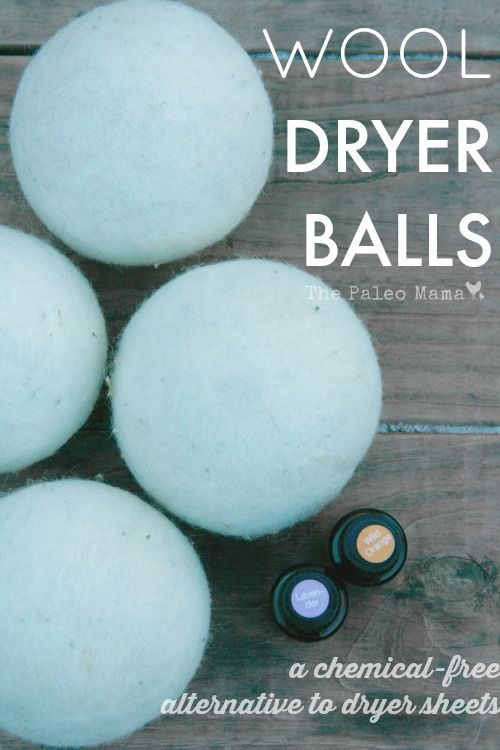 Wool Dryer Balls With Essential Oils Wool Dryer Balls