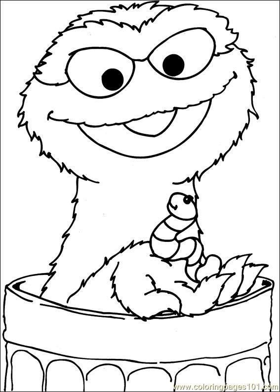 sesame street 38 coloring page free sesame street coloring pages - Sesame Street Coloring Books