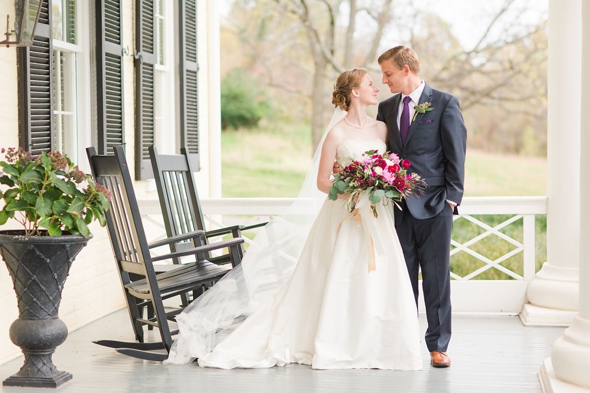 Wedding At The Inn at Willow Grove in Orange, Virginia with accents ...