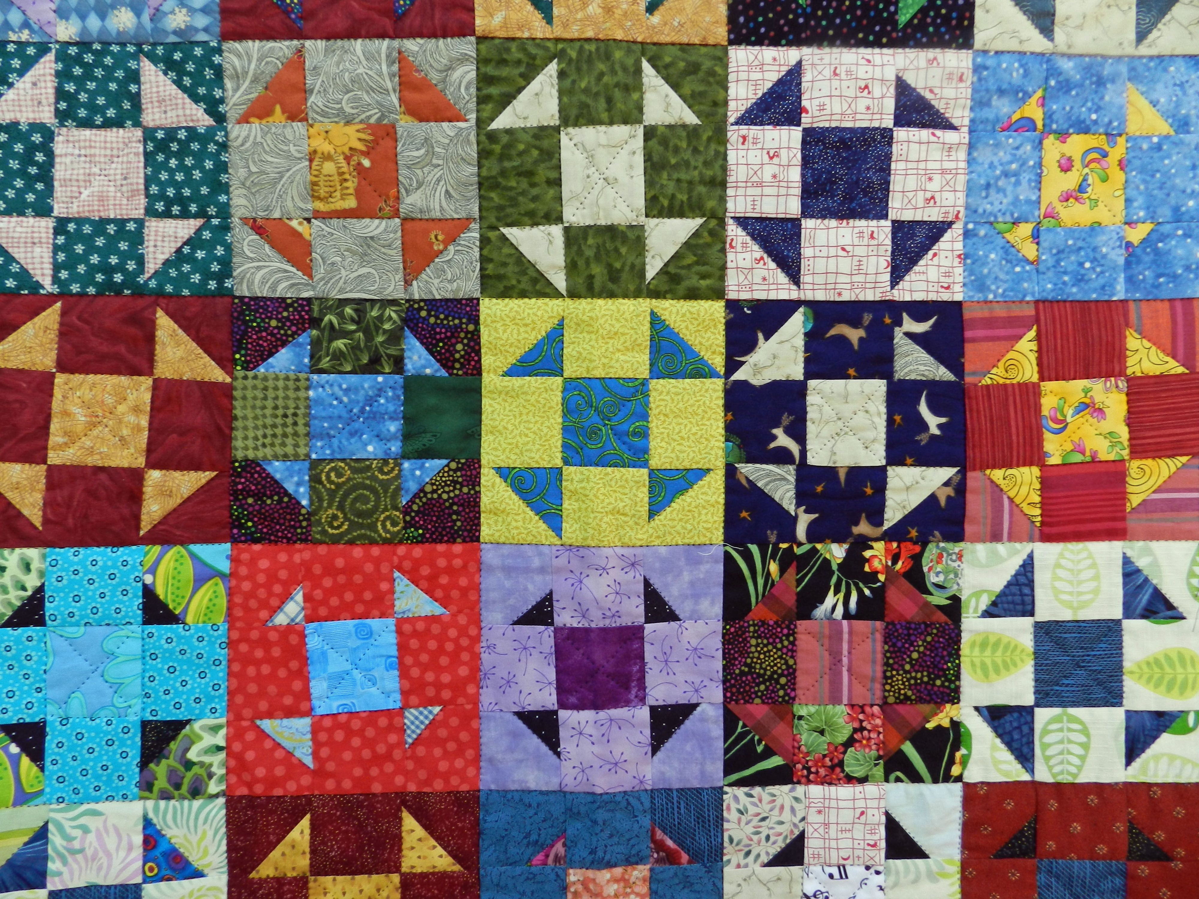 The Last Of The Funglies Quilts Shoo Fly Wonky