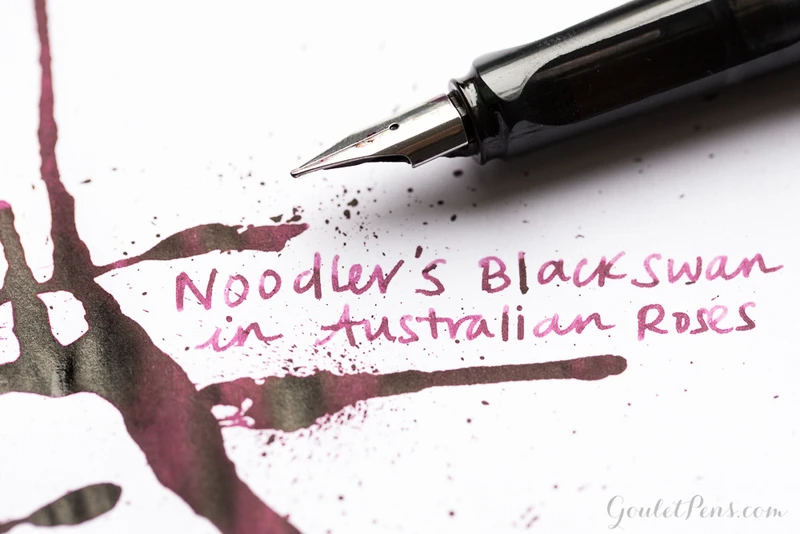 Noodler's Black Swan in Australian Roses - 3oz Bottled Ink – The Goulet Pen Company