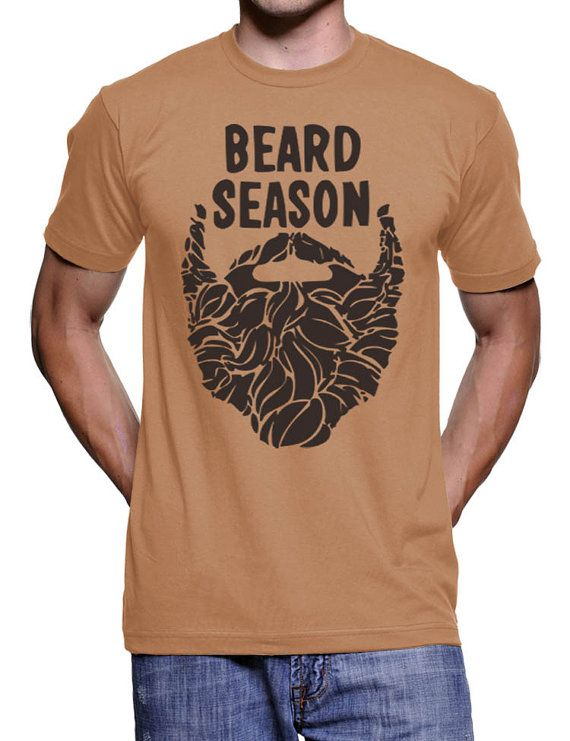 7f24cf20d Beard Season T-Shirt - Bearded For Her Pleasure - Beard Lumberjack ...