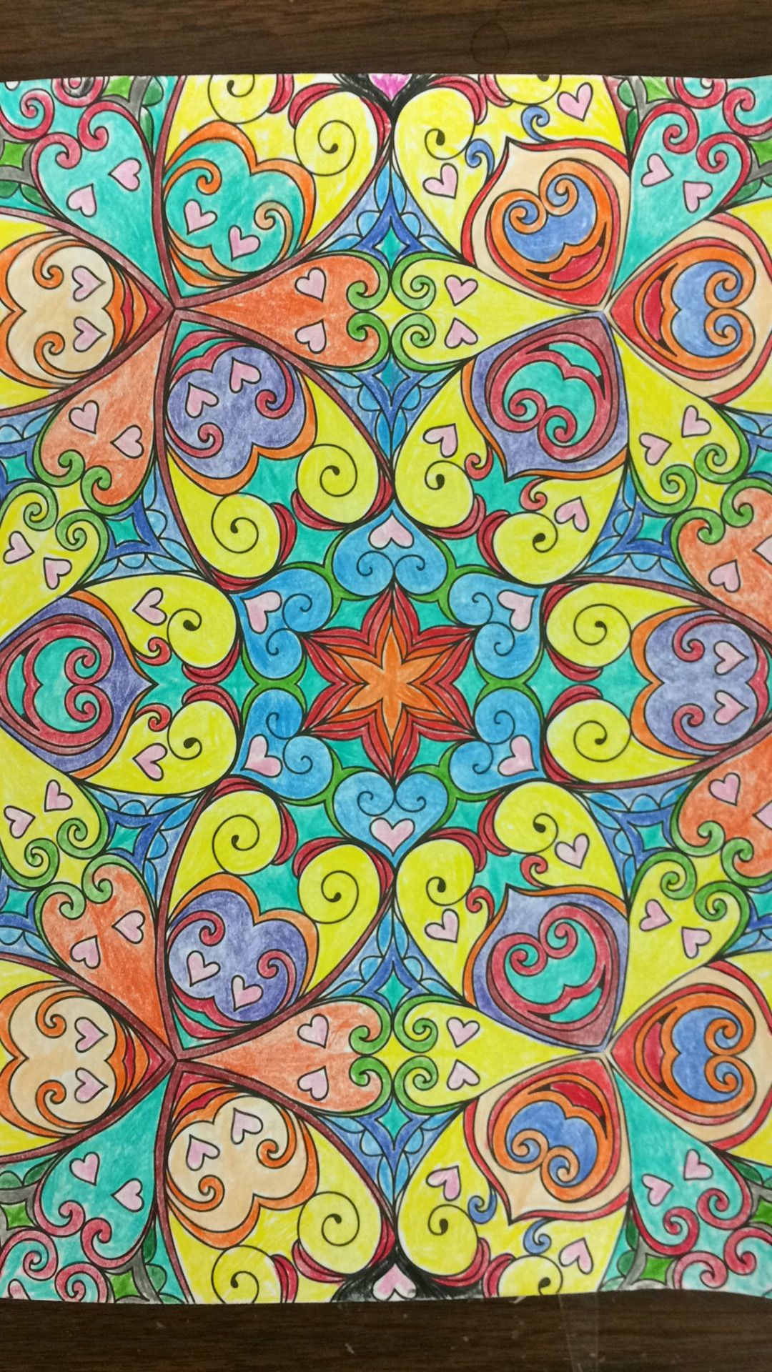Color art kaleidoscope - Kaleidoscope Wonders Color Art For Everyone Imgur