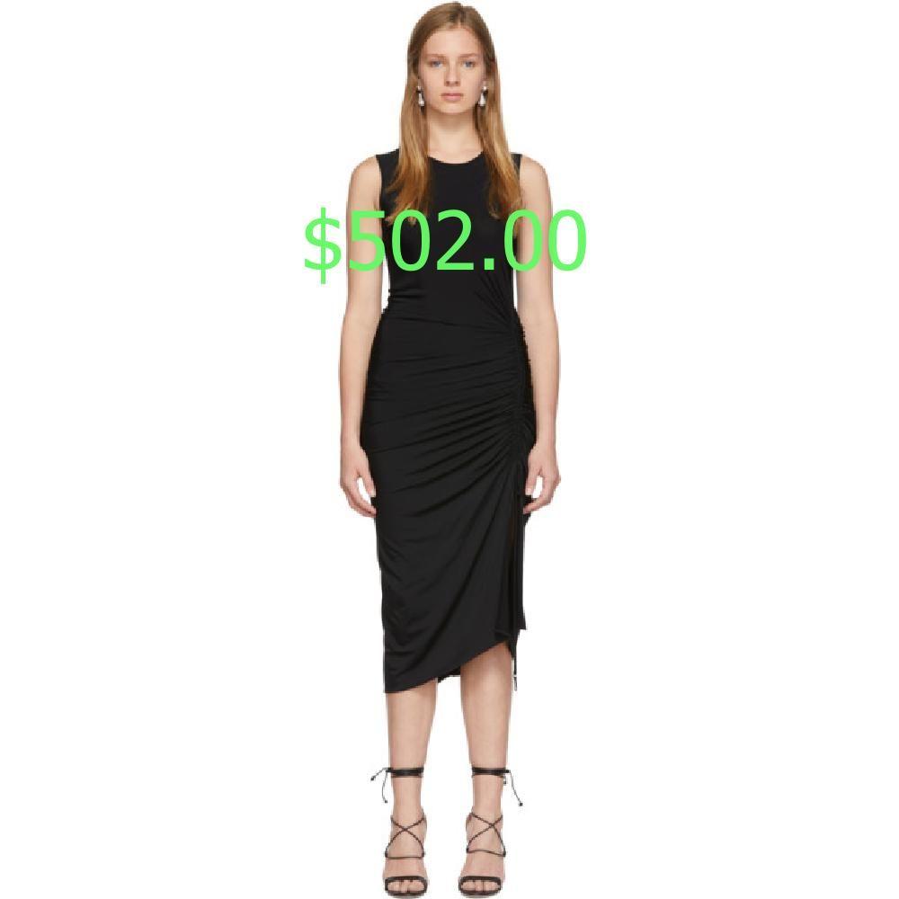 Altuzarra Black Sleeveless Mid Dress Dresses Mid Length Dresses Mid Dresses [ 1000 x 1000 Pixel ]