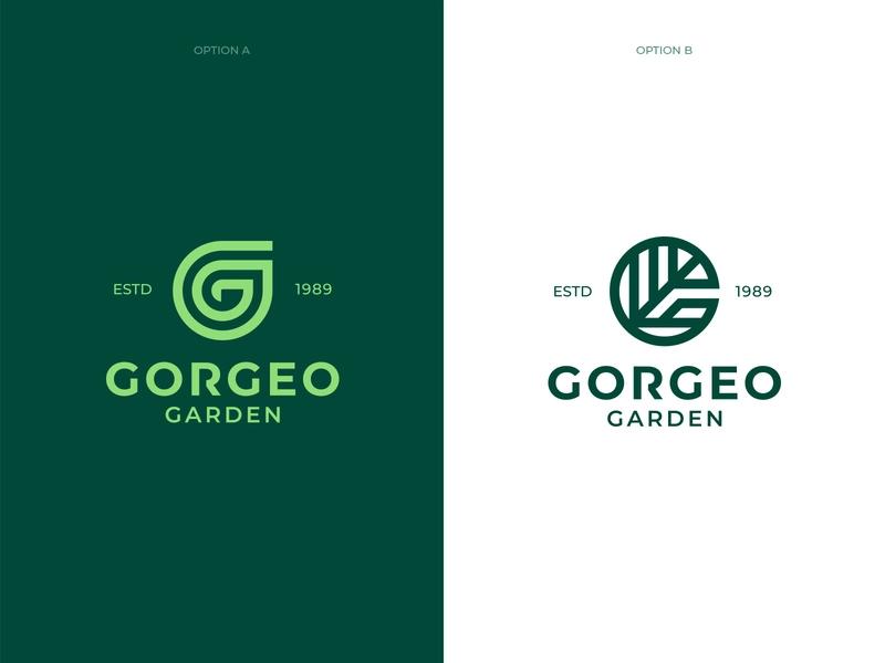 Gorgeo Garden Logo Explorations Natural Logo Logos Logo Design