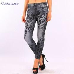 embroidered jeanspantscrow4showcrow4show  - crow4show