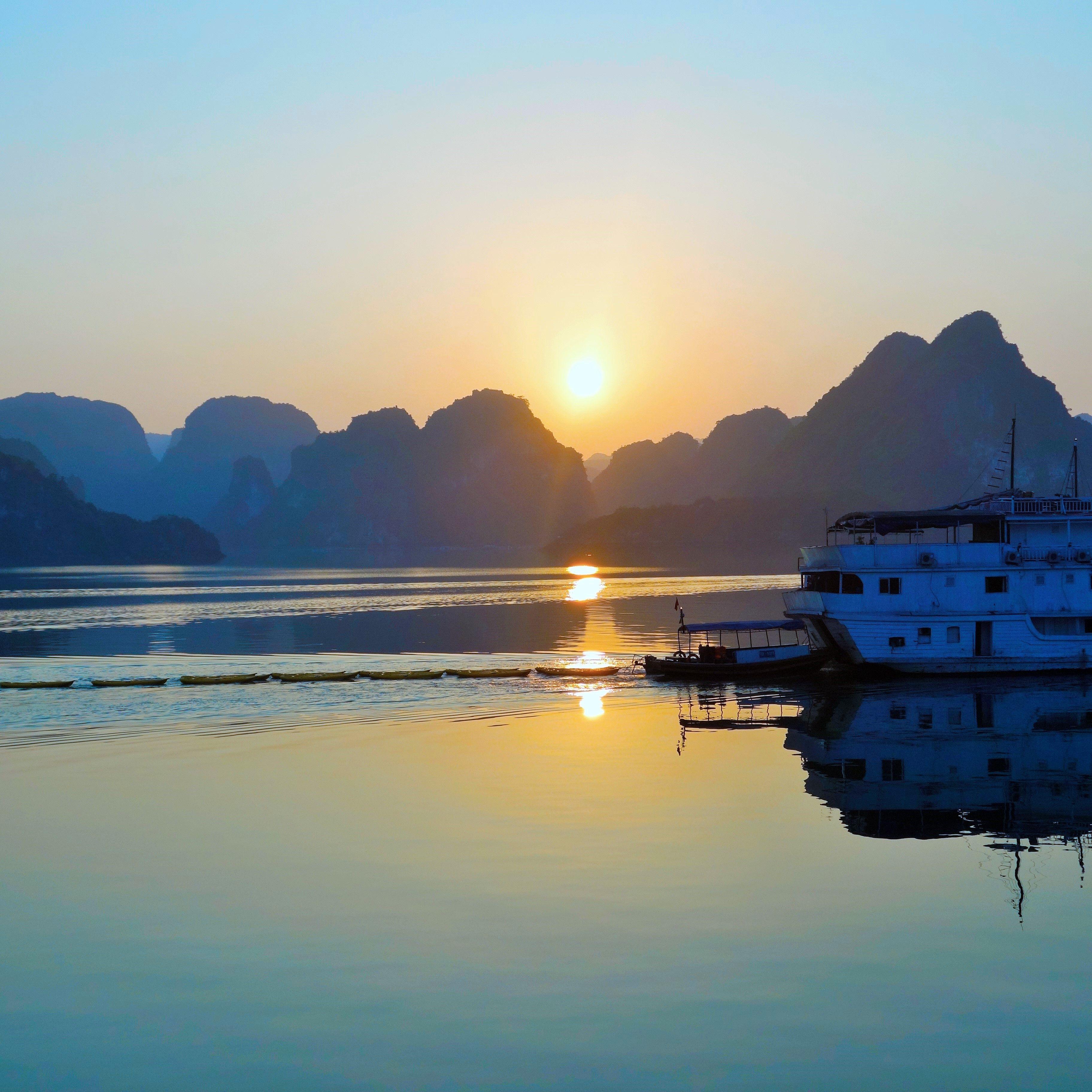 La Baie d'Halong, Vietnam !!