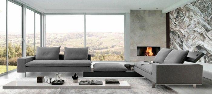 Le canapé design italien en 80 photos pour relooker le salon!