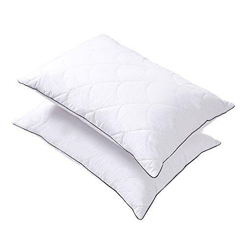 Pillows For Sleeping Down Alternative Bed Pillow 2 Pack Super Soft