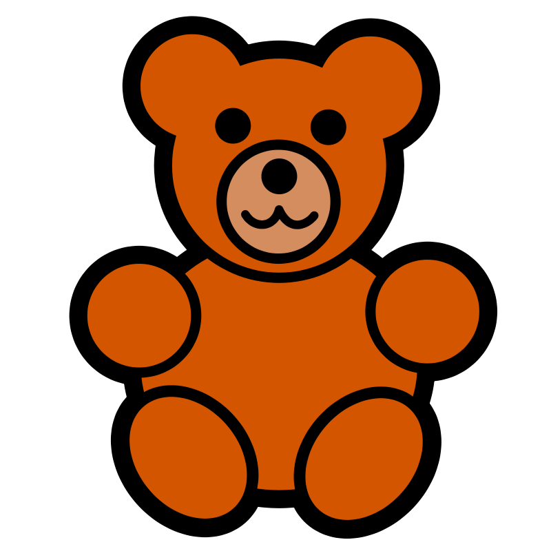bear clipart pitr teddy bear icon image vector clip art online rh pinterest com