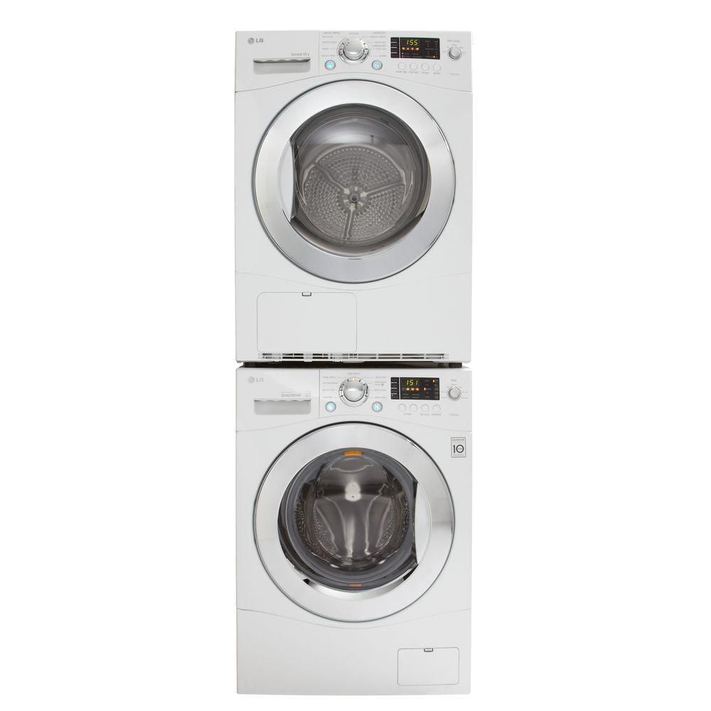 Lg 2 3 cu ft all in one washer and dryer - Lg Electronics 2 3 Cu Ft High Efficiency Front Load Washer In White Energy Star 899 Plus Lg Electronics 4 2 Cu Ft Electric Ventless Dryer I