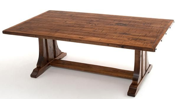 Bungalow Dining Table Trestle Base Craftsman Dining Tables