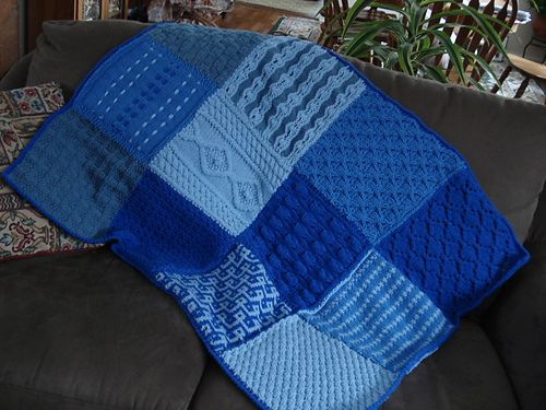 squares afghan (With images) | Knitted afghans, Knitting ...