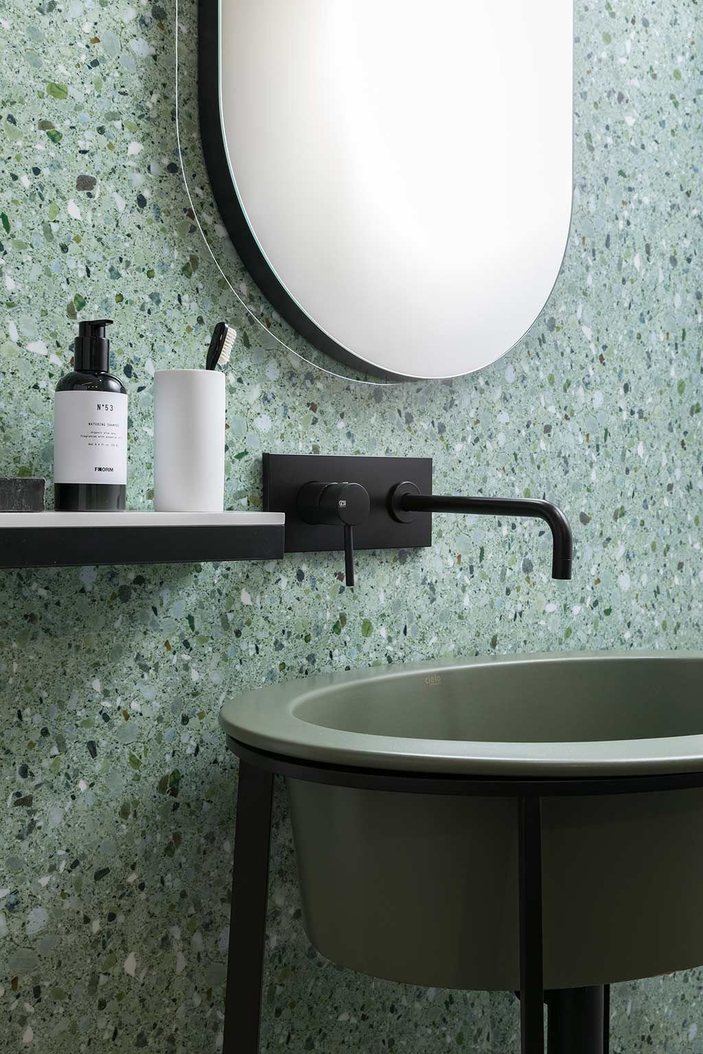 Artwork Terrazzo Look Tiles Casamood Florim Ceramiche