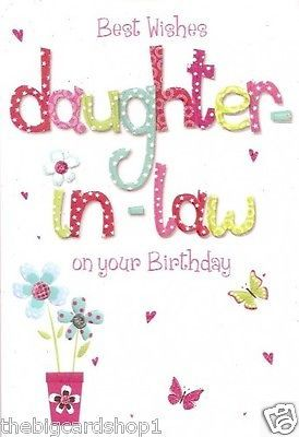 Happy Birthday Daughter In Law Happy Birthday Daughter Birthday