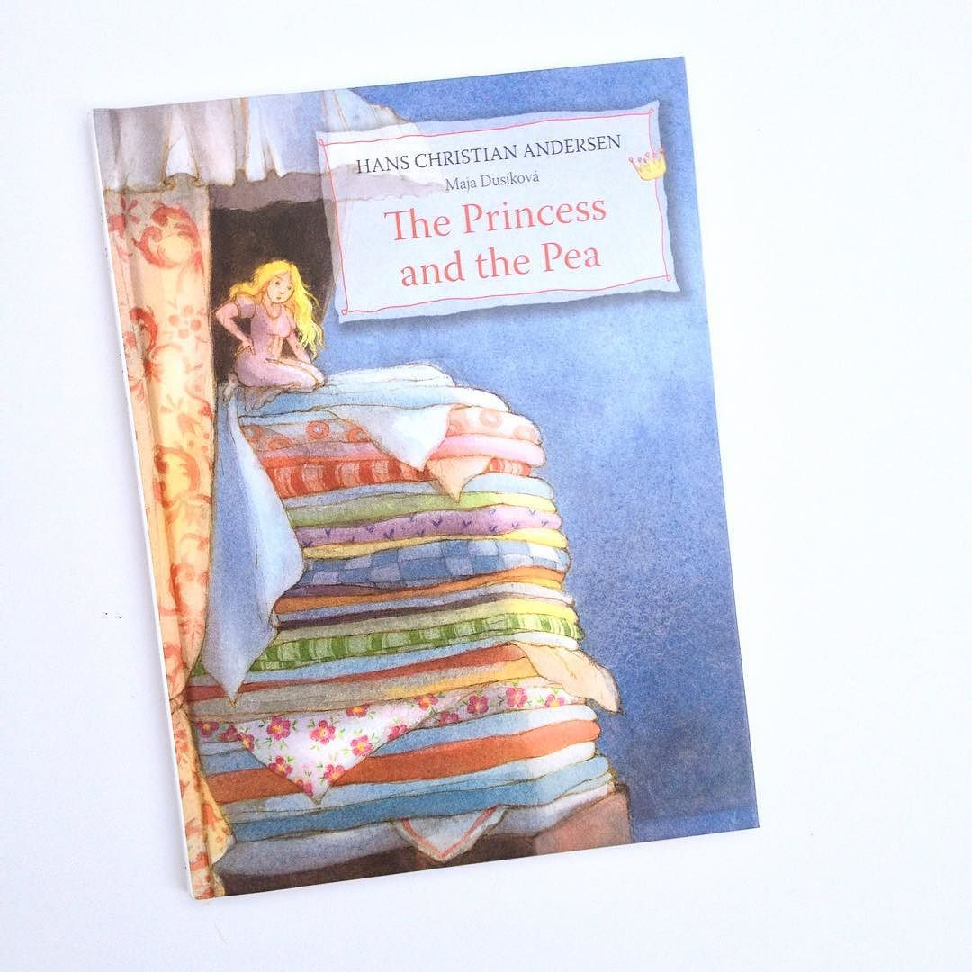 """I love being able to introduce fairy tales and folk tales at this age and as my daughter and I are both highly sensitive I want her to know this tale in particular. I was often called """"the princess and the pea"""" with negative connotations until I revisited this story where sensitivity is what matters most in the end. We enjoy Maja Dusaková's soft illustrations in this version too. #booksforkids #kidlit #childrensliterature #hanschristianandersen #majadusikova #princessandthepea #hsp #hsc…"""