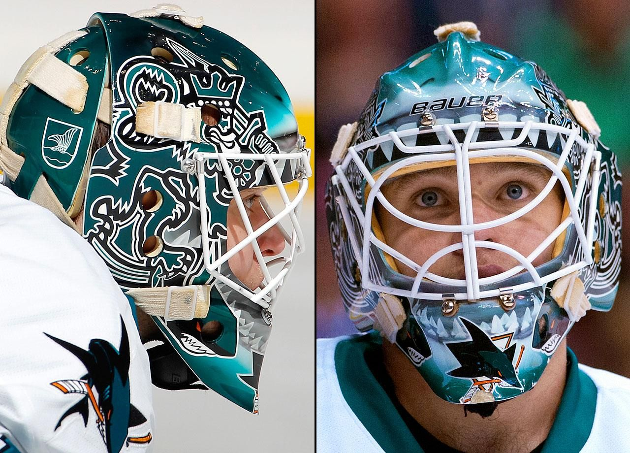 Nhl Goalie Masks By Team Goalie Mask Hockey Mask Football Helmets
