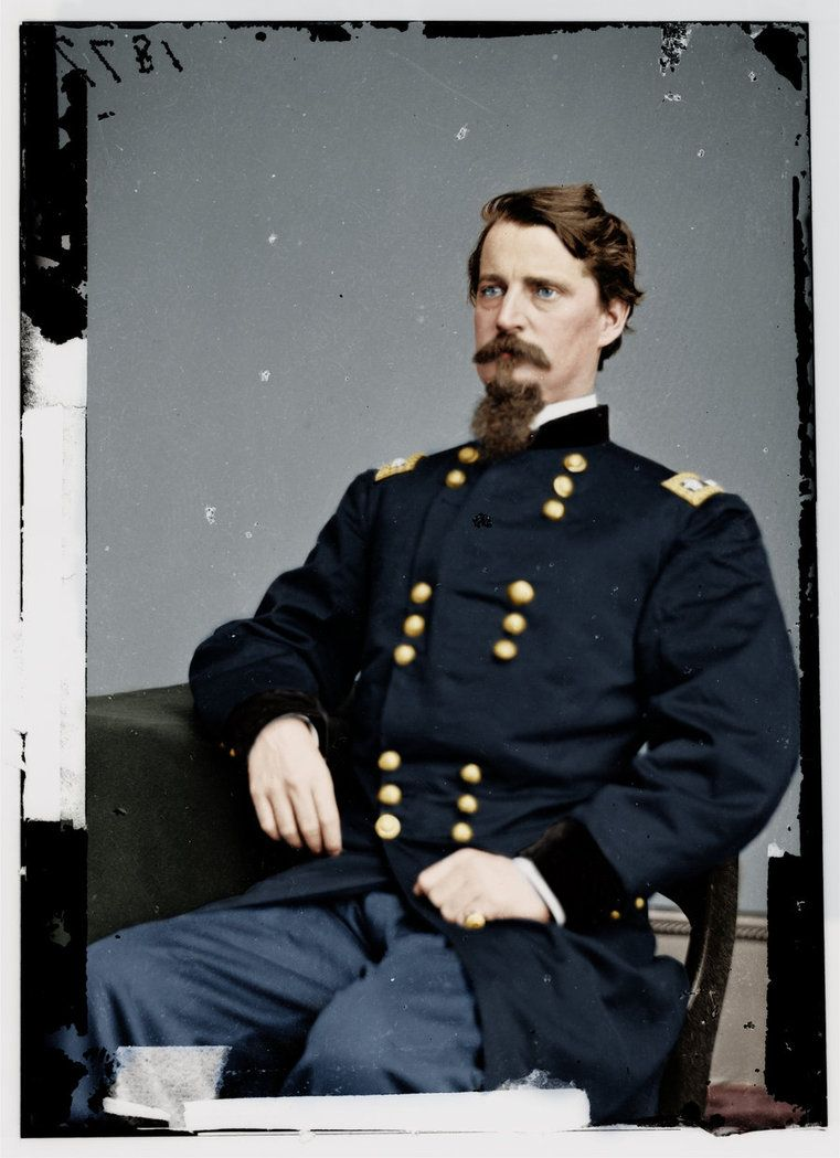Major General W.S. Hancock by Zuzahin. Commander of the II