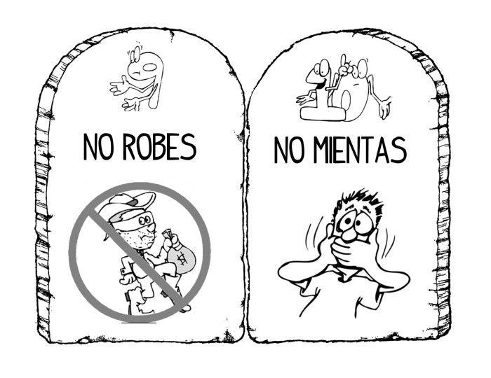 10 mandamientos para niños | Primariolandia | CATEQUESIS | Pinterest ...