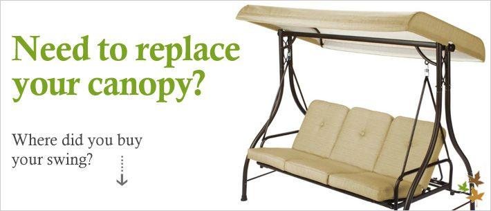 Replacement Cushion Canopies Garden Treasures Patio Furniture