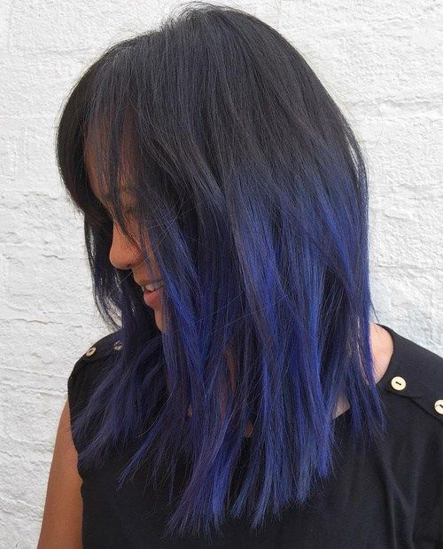 50 Cool Ideas Of Lavender Ombre Hair And Purple Ombre Balayage Straight Hair Blue Hair Highlights Purple Ombre Hair