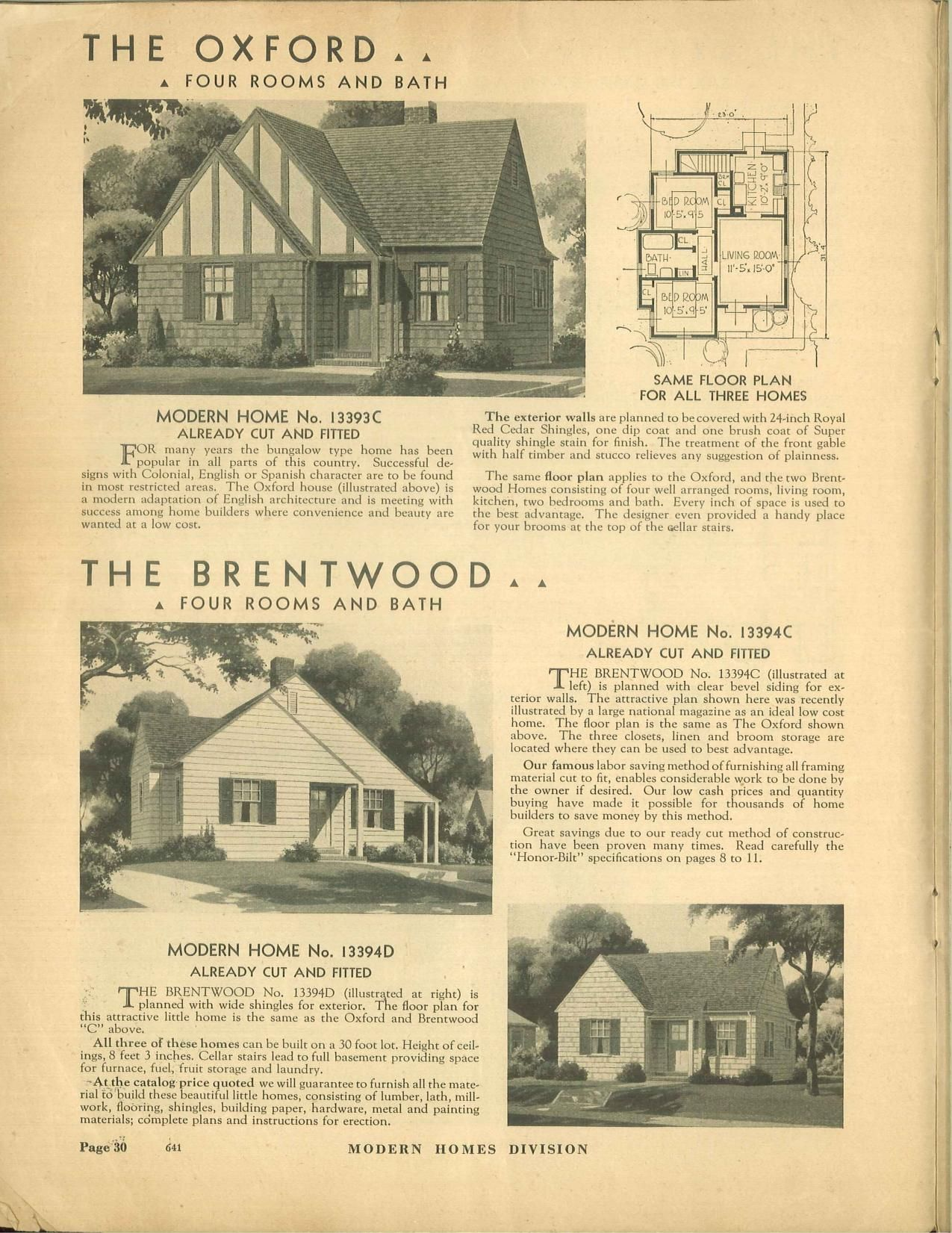 Sears Oxford Brentwood   Oxford 1933 13393A 13393B   1934 13393C. Sears Oxford Brentwood   Oxford 1933 13393A 13393B   1934 13393C