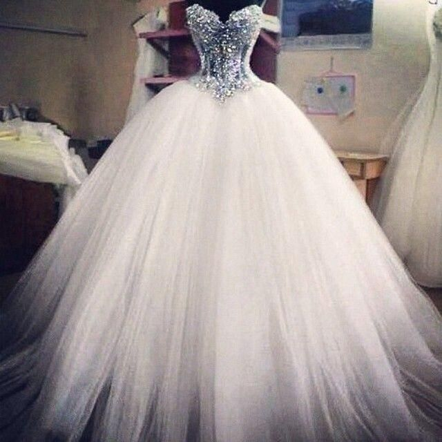 09fac5d9e4 Ball Gown Wedding Dresses Cheap Bridal Gowns Spring Sexy Sweetheart ...