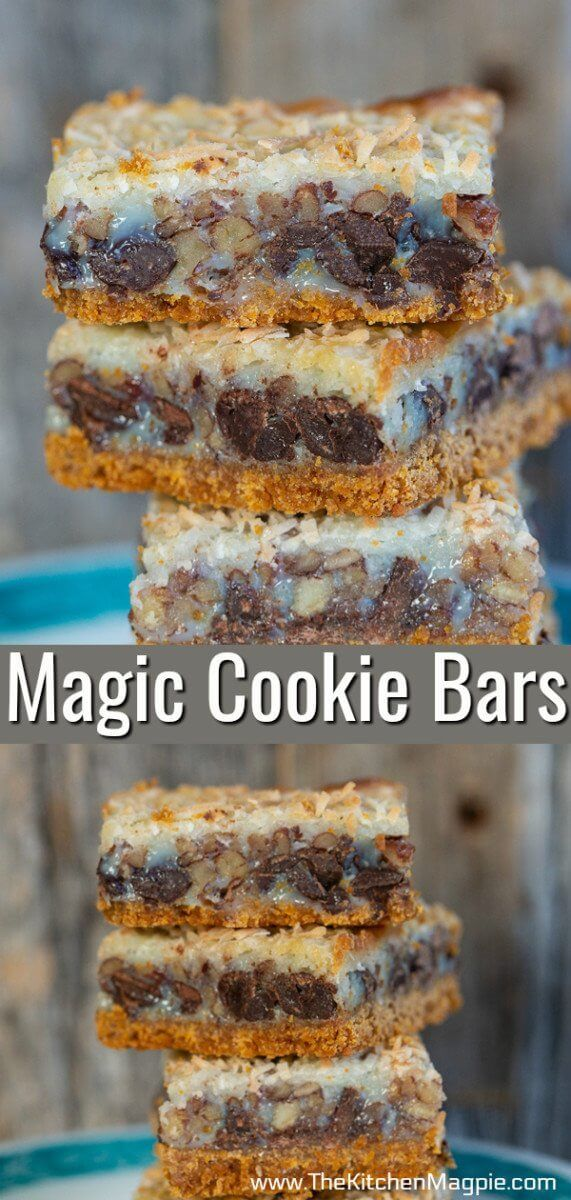 Is anything more classic than delicious Magic Cookie Bars ...
