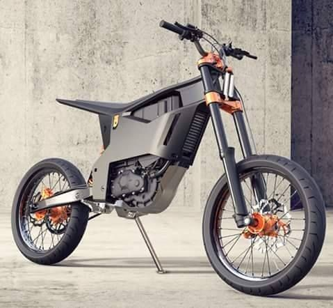 bild zeigt motorrad elektro r der electric dirt bike. Black Bedroom Furniture Sets. Home Design Ideas