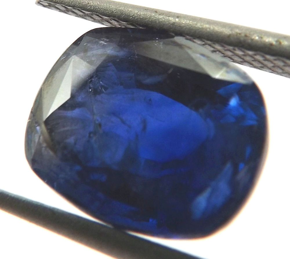 deep edwardian blue sapphire pin diamond ring best cluster