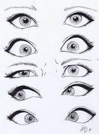 Resultado De Imagem Para Anime Eyes Realistic Sketches Drawings Eye Drawing