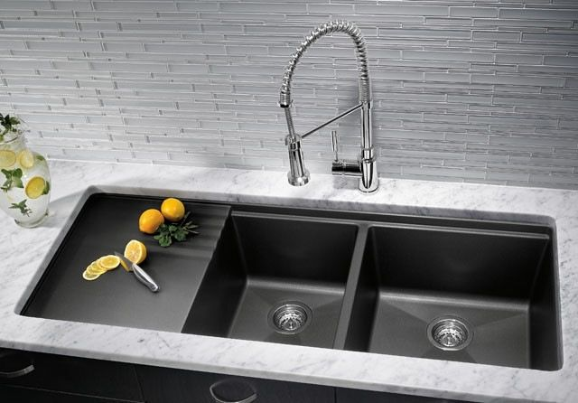 Kitchen Sink Types Pros And Cons Composite Kitchen Sinks Undermount Kitchen Sinks Granite Granite Kitchen Sinks