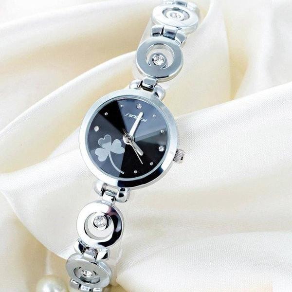 SINOBI Woman Watches 2017 Brand Luxury Quartz-watch Bracelet Relojes Mujer  2017 Ladies Wrist Watches 99b53acb234f
