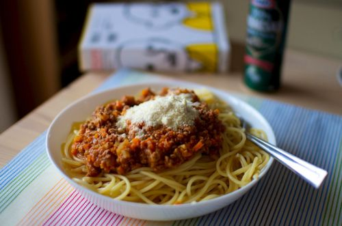 spaghetti, i just love spaghetti