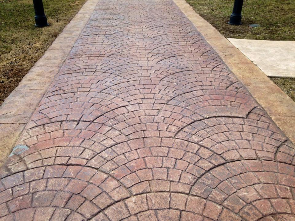 штамп бетон