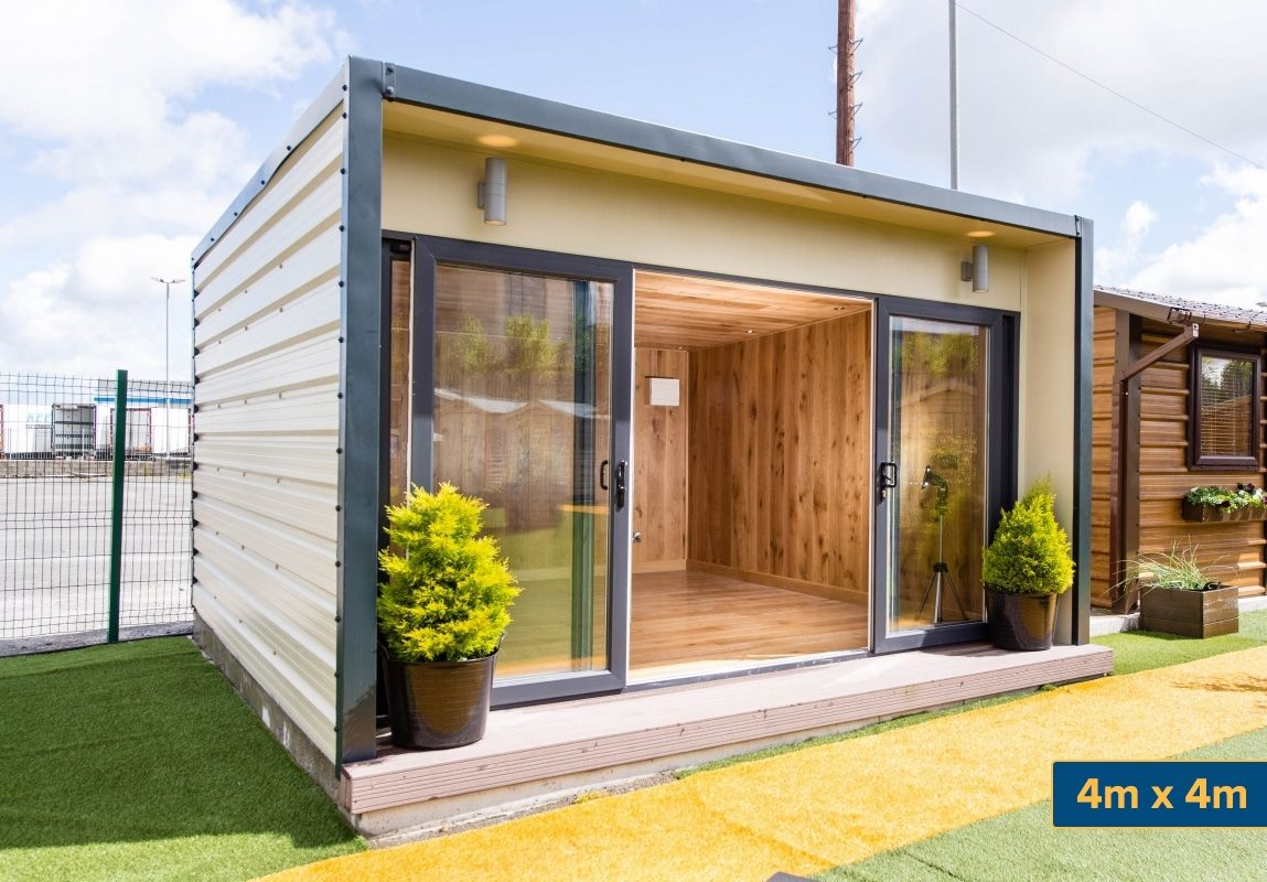 Garden Studio, Garden Room, Garden Sunroom   Steeltech Garden Rooms