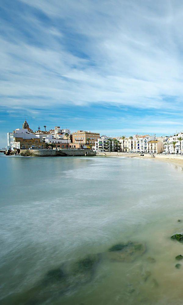 Playa San Sebastián Sitges Sitges Places To Go Places In Spain