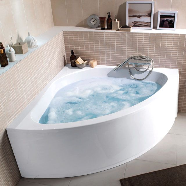 Baignoire d\'angle 135 x 135 cm Nouméa - CASTORAMA | Bathe | Laundry ...