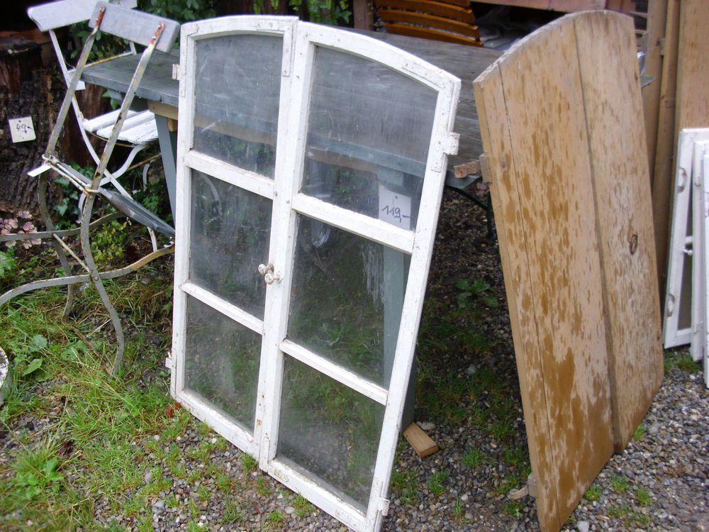 Segment Bogen Sprossen Fenster vermutlich Eiche - historisch - antik ...