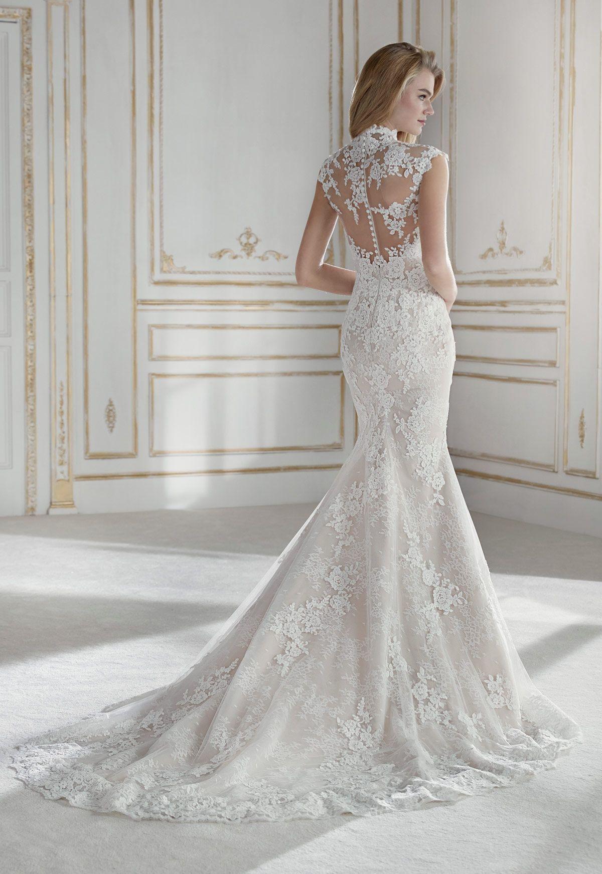b05aab04e0 Vestido de novia La Sposa Modelo Patricia - Eva Novias