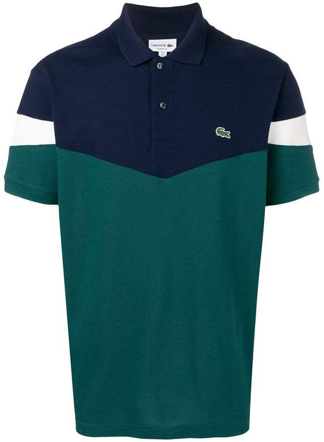 376159a69b Lacoste Colour Block Polo Shirt in 2019 | Products | Lacoste polo ...