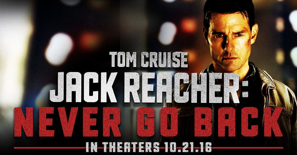 Pin by Janice J. Rosario on Jack Reacher: Never Go Back