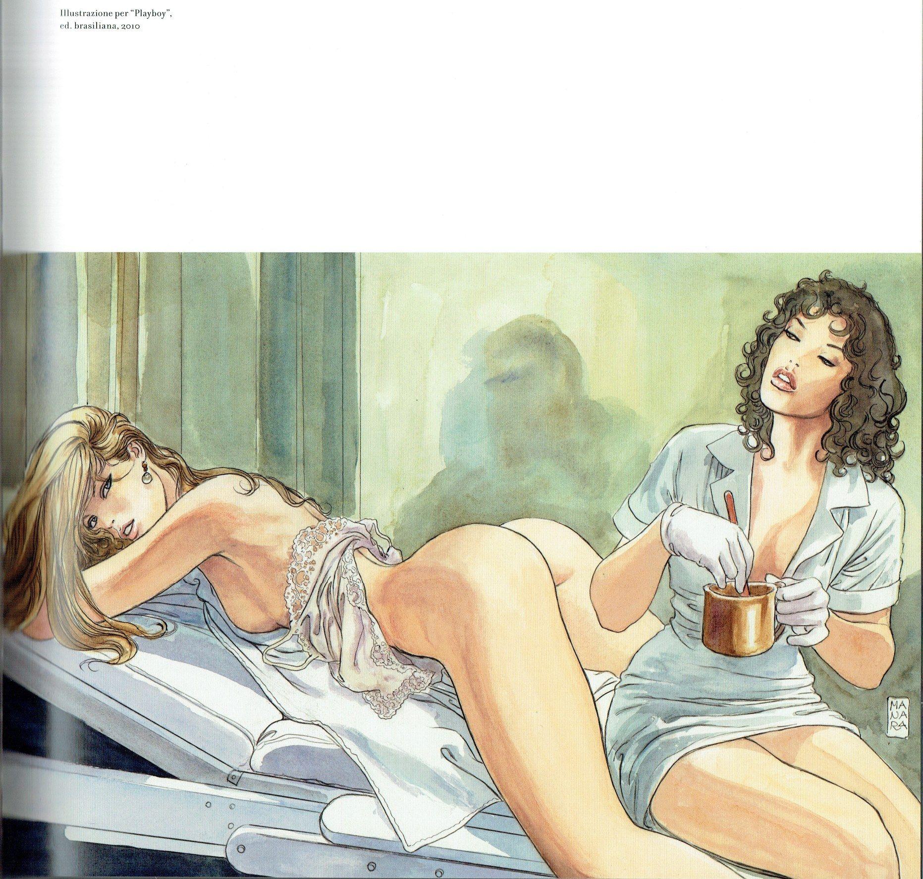 cartoon sex lesbian