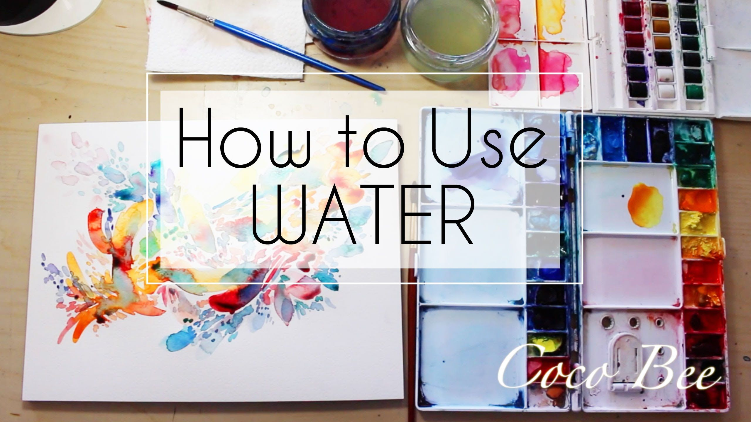 How To Use Watercolor How Much Water In Watercolor Watercolor
