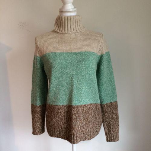 Boden Size 10 Wool Blend Turtleneck Sweater Green Brown Stripe https://t.co/nzV4P4HKmM https://t.co/5oF2vuXlUX